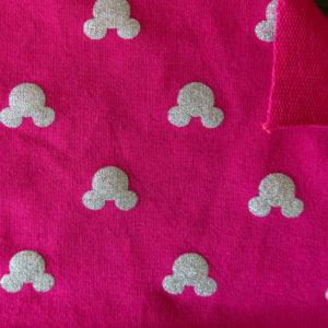 Teplákovina – myšák na růžové