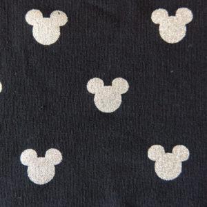 Teplákovina – myšák stříbrný na černé
