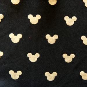 Teplákovina – myšák zlatý na černé
